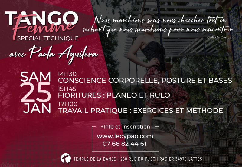 Special Tango Femme à Montpellier